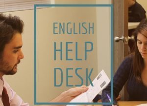 English Help Desk Photo