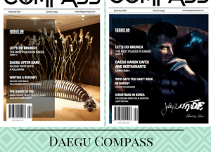 This is a photo of the two Daegu Compass Articles written about repatriation.