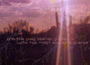 Skies Opened suddenly album cover